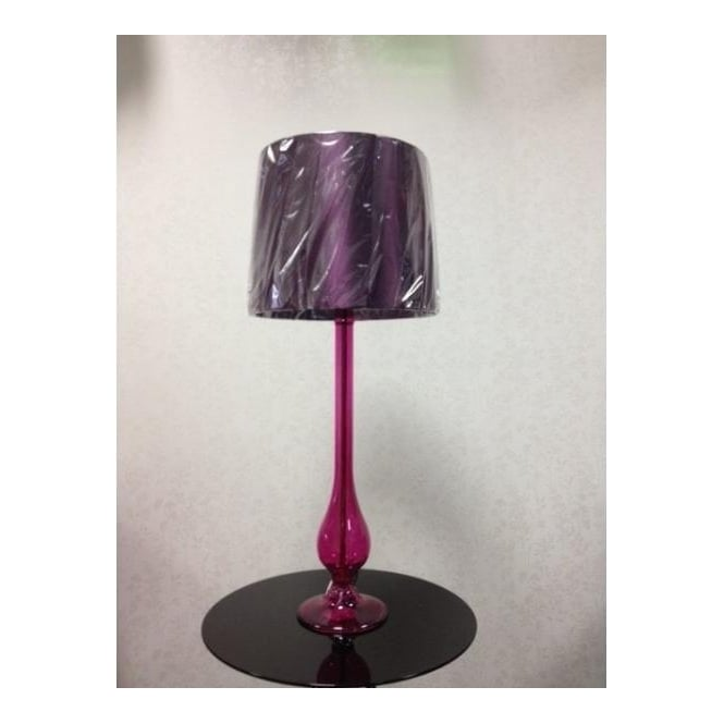 DIL4061 Dillon 1 Light Purple Table Lamp