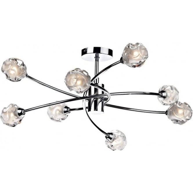 Sea0850 seattle chrome ceiling light lighting online sea0850 seattle 8 light ceiling light polished chrome aloadofball Choice Image