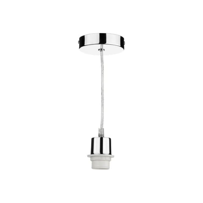 Sp65 suspensions polished chrome pendant for non electric shades