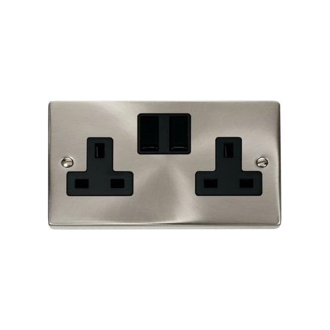 Click Deco Victorian VP036 2 Gang 13A DP Switched Double Socket