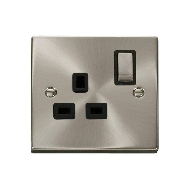 Click Deco Victorian VP535 1 Gang 13A DP Ingot Switched Single Socket