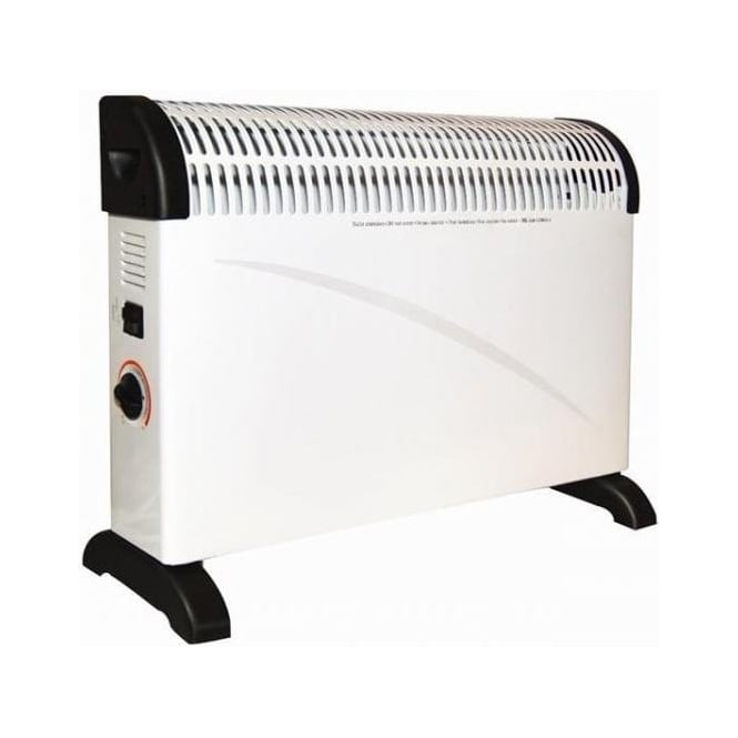 Ocean OH2K/5W 2000w / 2Kw Thermostatic Controlled Convector Heater Wall & Free Standing White