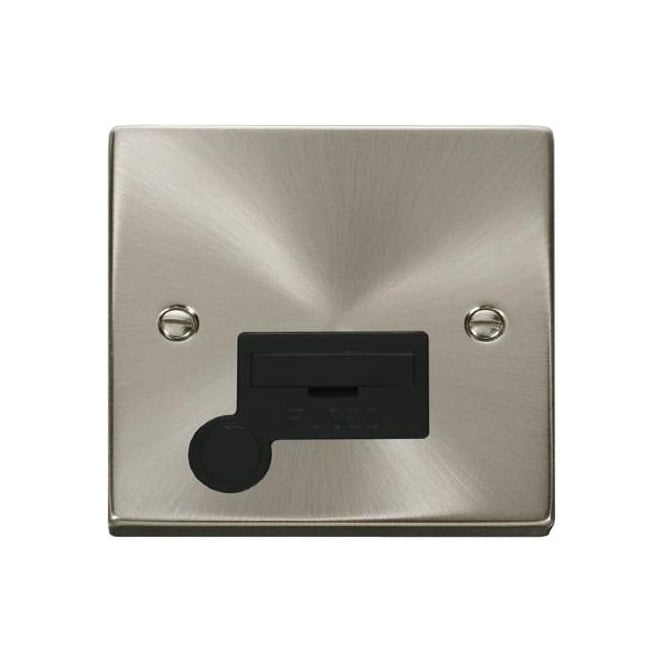 Click Deco Victorian VP050 13A Fused Connection Unit with Flex Outlet