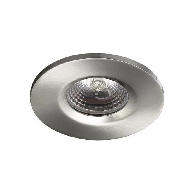 Dar VEG9646 Vega Fire Rated LED Bathroom IP65 Downlight Satin Chrome
