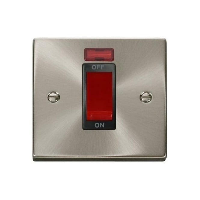 Click Deco Victorian VP201 45A DP Switch with Neon