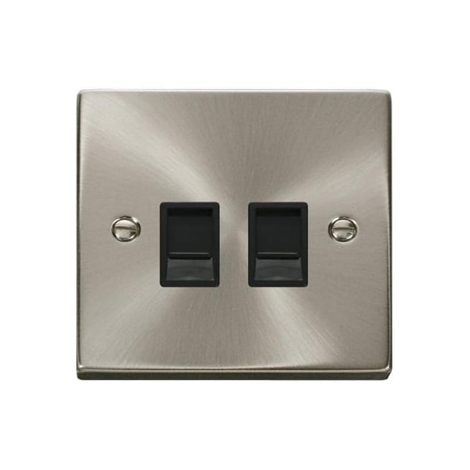 Click Deco Victorian VP311/MM480 Twin RJ45 Data Outlet Socket