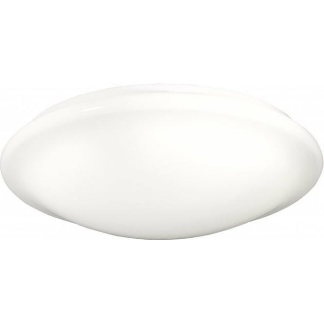 Searchlight 302-42WH 1 Light Flush Ceiling Light Acrylic