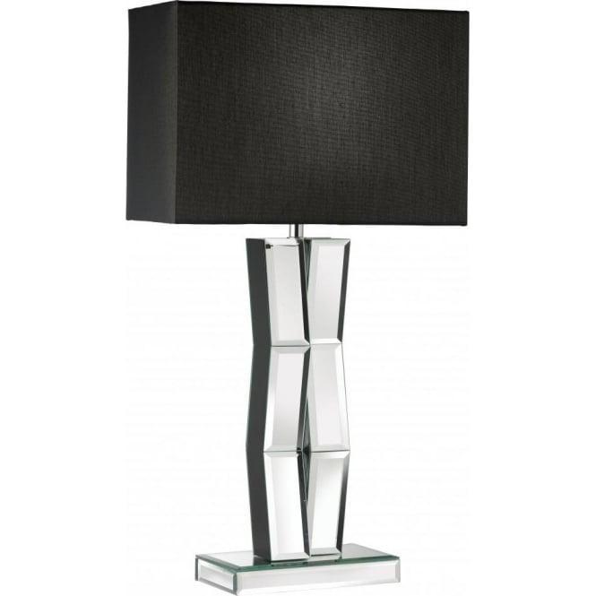 Searchlight 5110BK | Reflection 1 Light Table Lamp