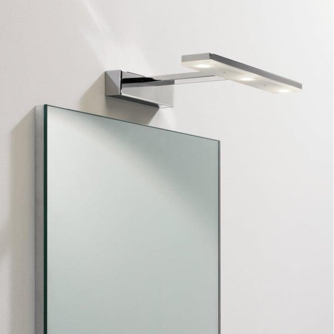 above mirror lighting. 7009 zip 3 light led mirror polished chrome ip44 above lighting