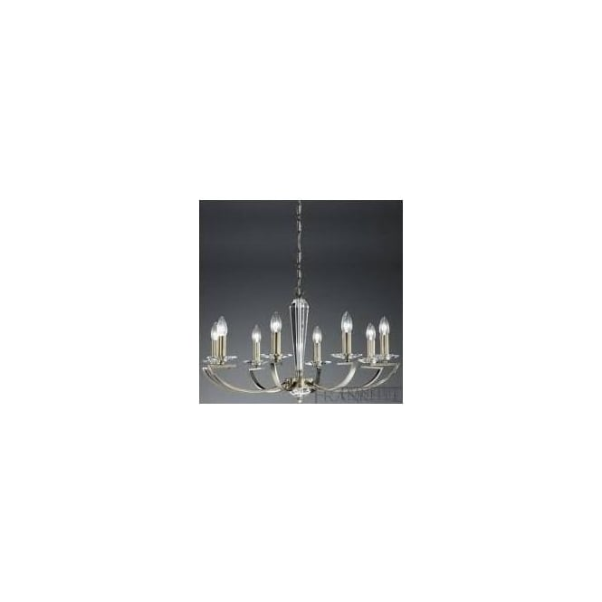 Franklite FL2242/8 Artemis 8 Light Crystal Ceiling Light Bronze