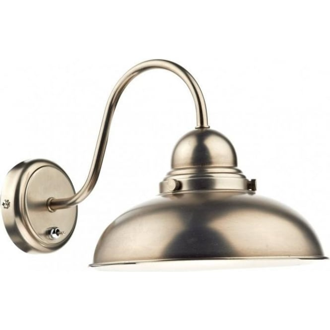 Dyn0761 dar dynamo 1 light wall light switched chrome wall light dyn0761 dynamo 1 light switched wall light antique chrome aloadofball Gallery