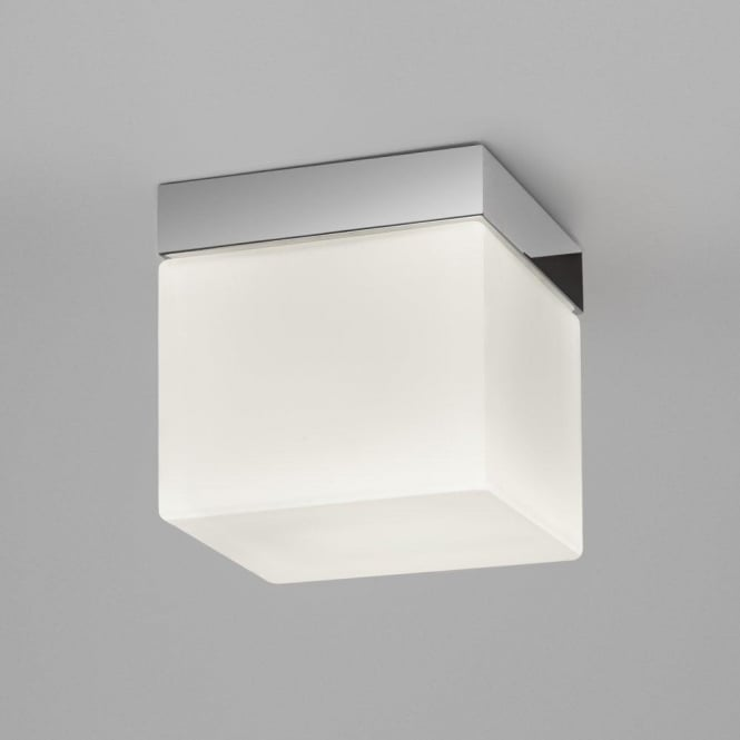 Astro 7095 Sabina Square 1 Light Ceiling Light IP44 Polished Chrome
