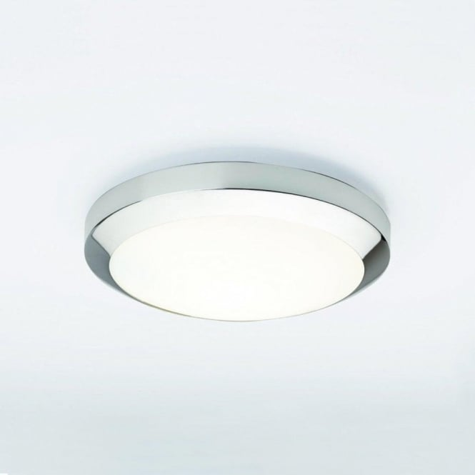 Astro 0565 Dakota Plus 1 Light IP44 Wall/Ceiling Light Polished Chrome