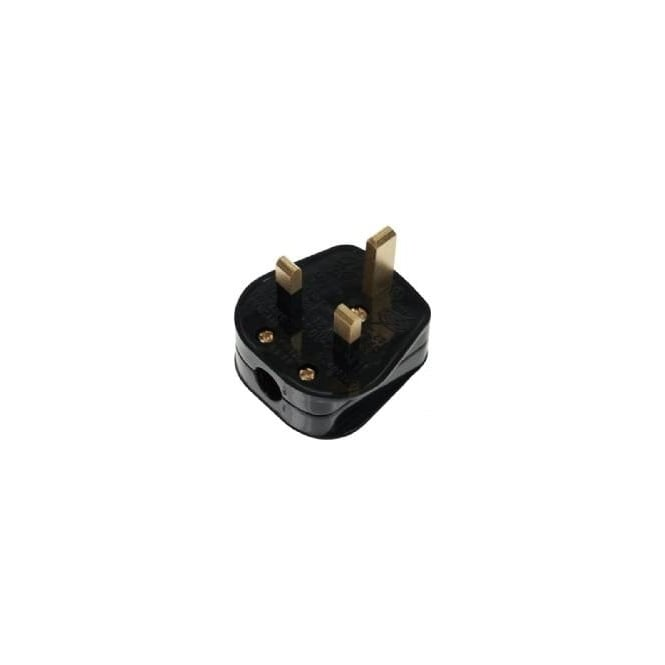 Click Mode Click Essentials PA330 13 amp fused resilient plug black standard