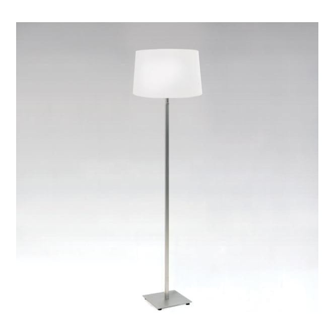 Astro 4515 + 4026 Azumi 1 Light Floor Lamp Matt Nickel With White Shade