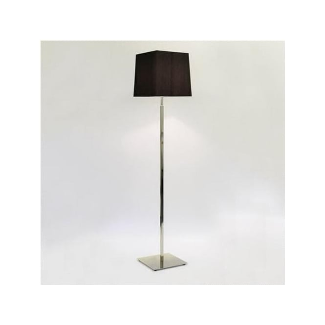 Astro 4512 + 4026 Azumi 1 Light Floor Lamp Polished Nickel With White Shade