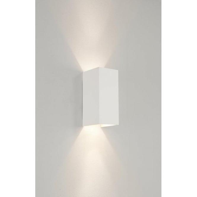 Astro 0964 parma 2 light wall light plaster for Applique exterieur up down