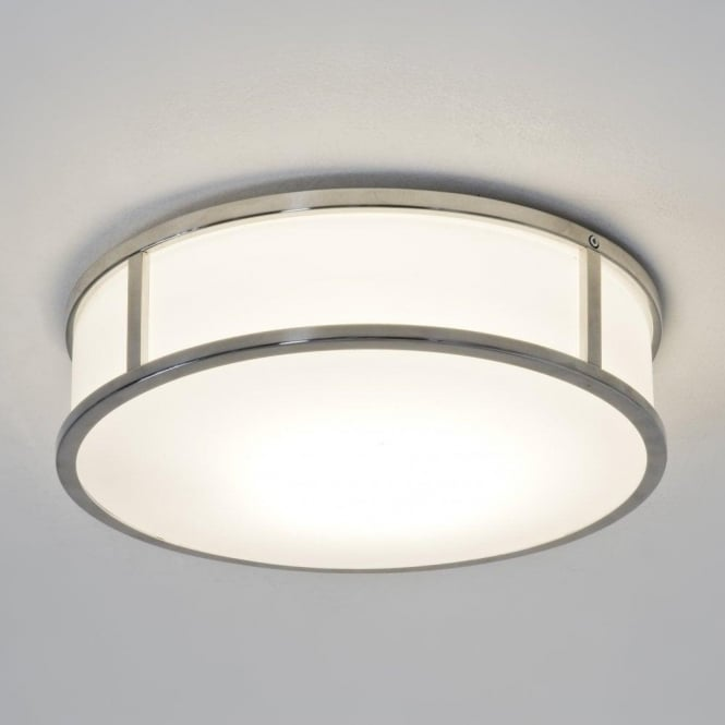 Astro 7179 Mashiko Round 230 1 Light Ceiling Light Polished Chrome