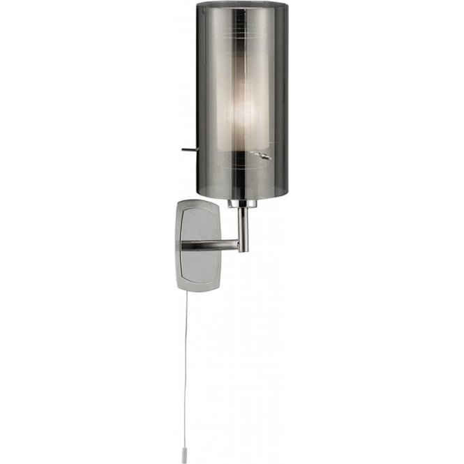 Searchlight 2300-1SM Duo 2 1 Light Wall Light Polished Chrome