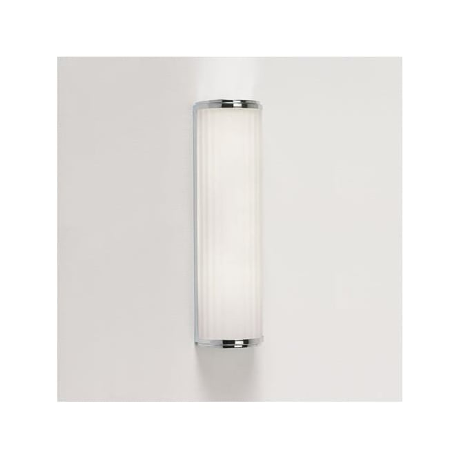0915 Monza Plus 400 1 Light Bathroom Wall Light IP44 Polished Chrome