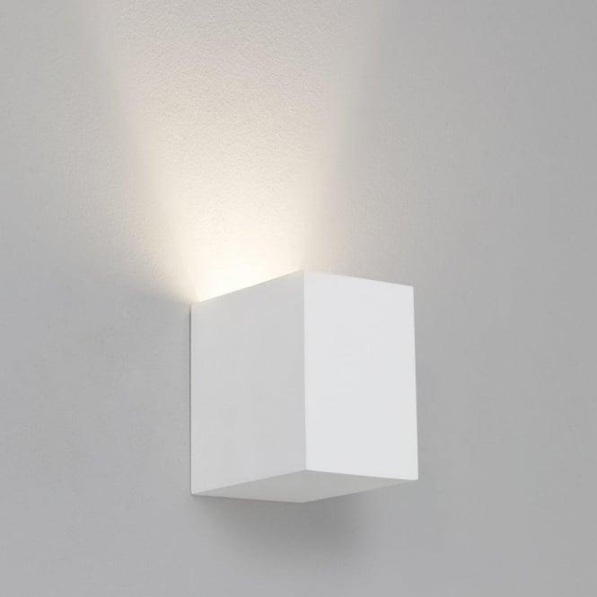 Plaster Wall Lights Up Down : Astro 7076 Parma 1 Light Wall Light Plaster