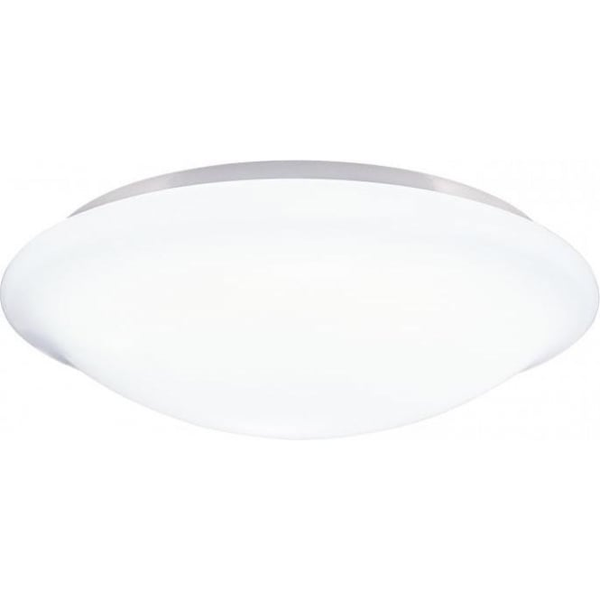 Dar SKY522 Skye 1 Light Flush Ceiling Light White IP44