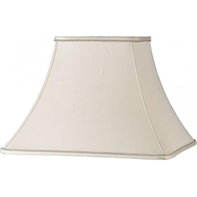 CHANEL 6 Non Electric Silk Effect Ivory Table Lamp Shade