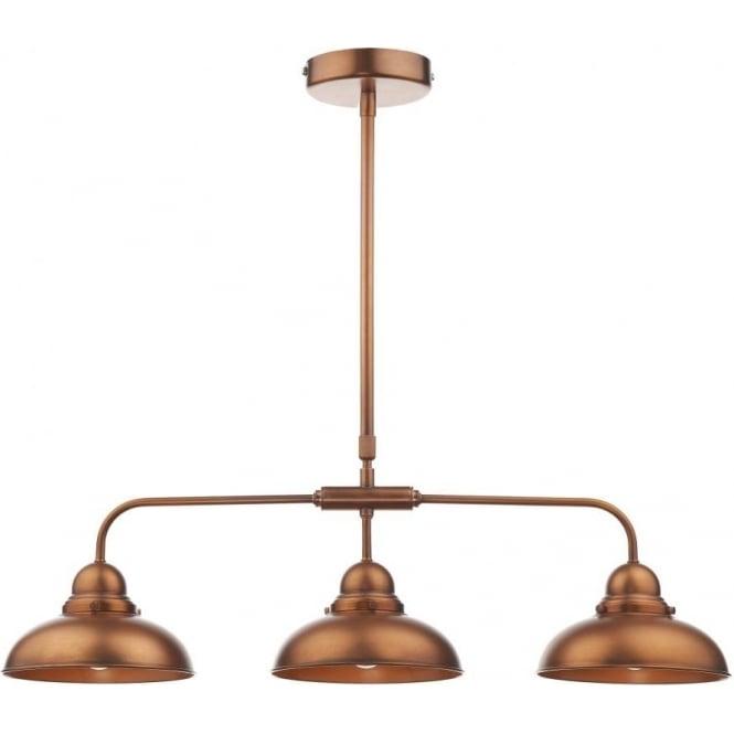 Dyn0364 Dynamo 3 Light Ceiling Light Copper