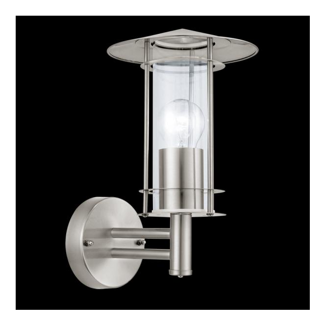 30184 Wall Light Eglo Stainless Steel, Eglo Lamp Outdoor