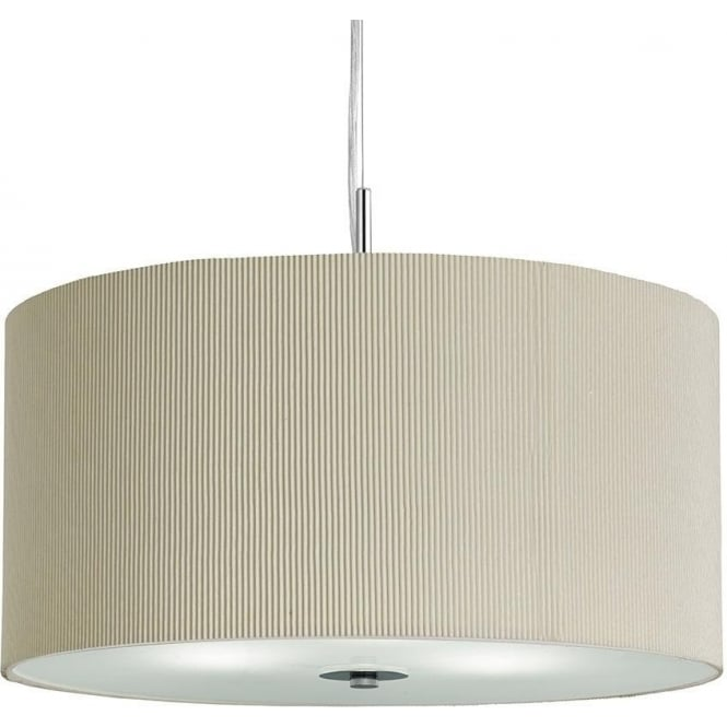 drum shade pendant lighting. 235340cr drum pleat 3 light ceiling pendant cream shade lighting