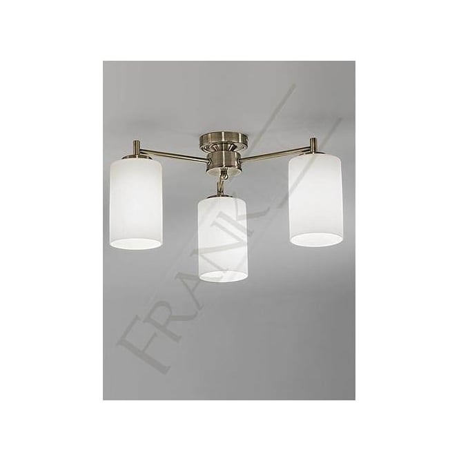 Franklite FL2253/3 Decima 3 Light Ceiling Light Bronze
