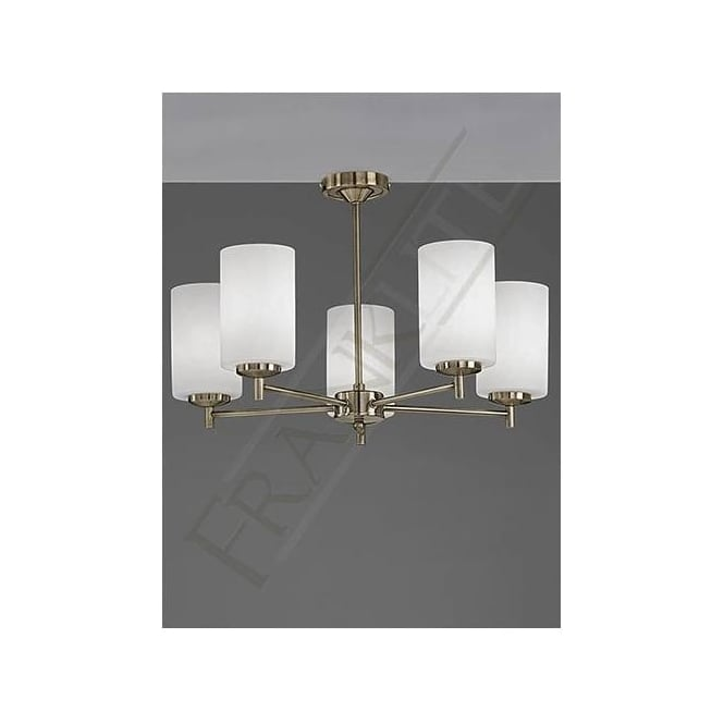 Franklite FL2272/5 Decima 5 Light Ceiling Light Bronze