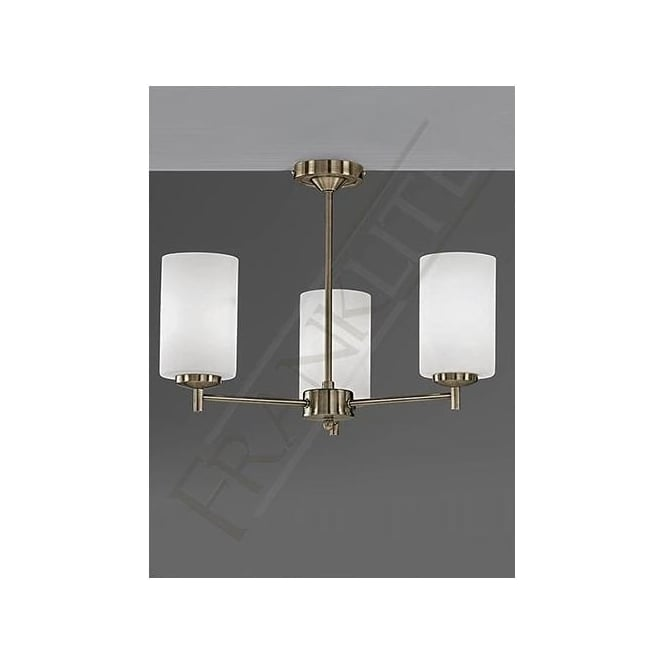 Franklite FL2272/3 Decima 3 Light Ceiling Light Bronze