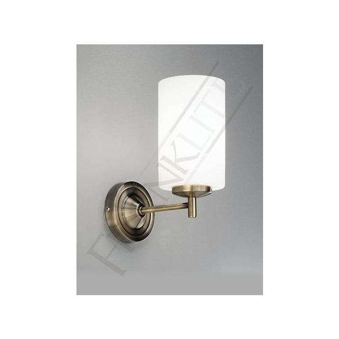Franklite FL2253/1 Decima 1 Light Wall Light Bronze