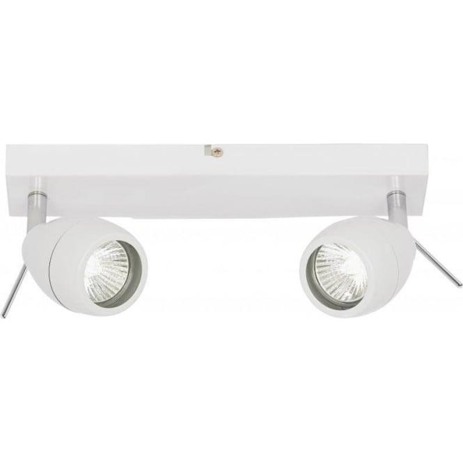 Bathroom Lights Endon endon el-20094 | bathroom spotlight | ip44 white ceiling spotlights