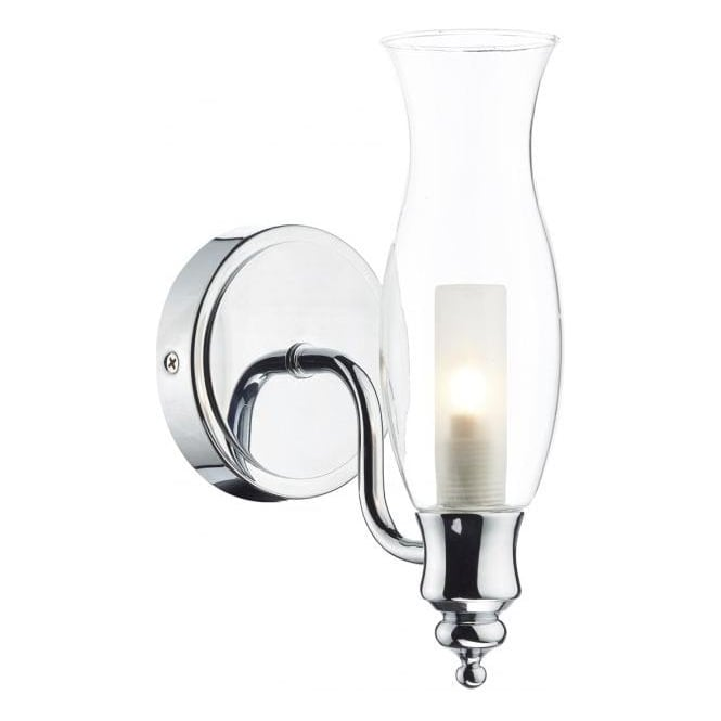 Dar ves0750 vestry 1 light wall light polished chrome bathroom light ves0750 vestry 1 light wall light polished chrome ip44 aloadofball Images