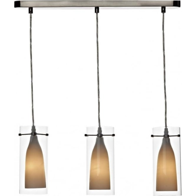 triple pendant lighting. bod0346 boda 3 light ceiling pendant satin chrome triple lighting