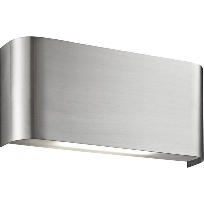 Searchlight 1953SS LED Up/Downlighter Wall Light Satin Silver