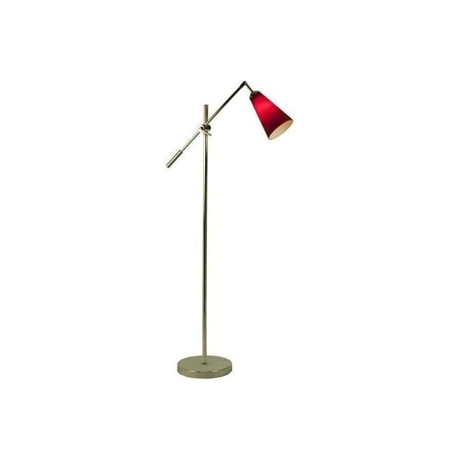 Retro Lighting STOCKHOLM1FLOOR Stockholm 1 Light Floor Lamp Polished Chrome