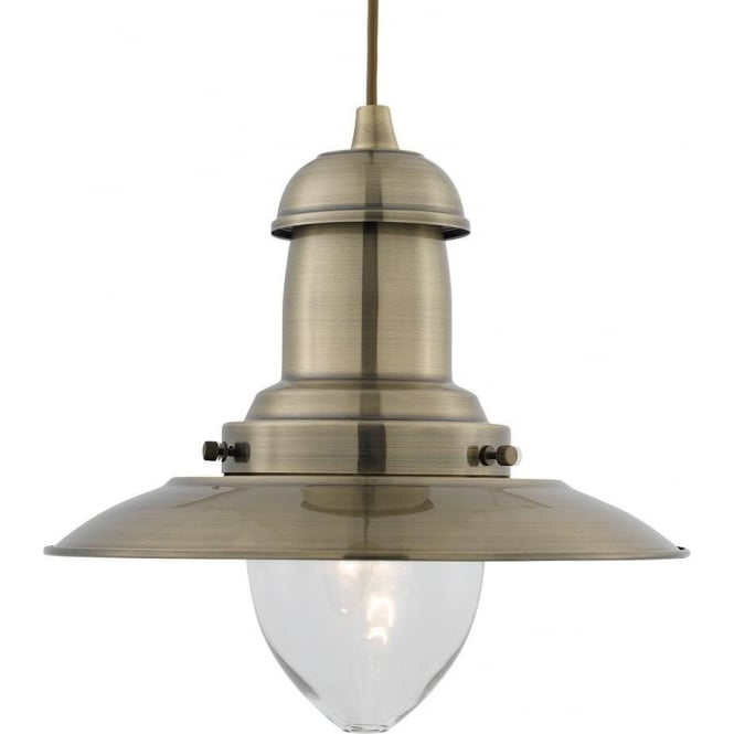 Searchlight 4301ab fisherman 1 light antique brass ceiling pendant 4301ab fisherman 1 light ceiling pendant antique brass aloadofball Choice Image