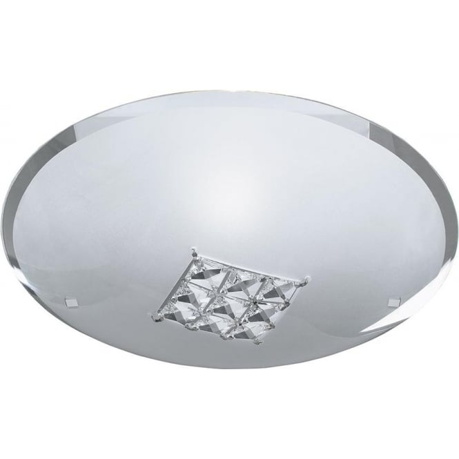 Searchlight 2198-32 Francesca 1 Light Flush Ceiling Light