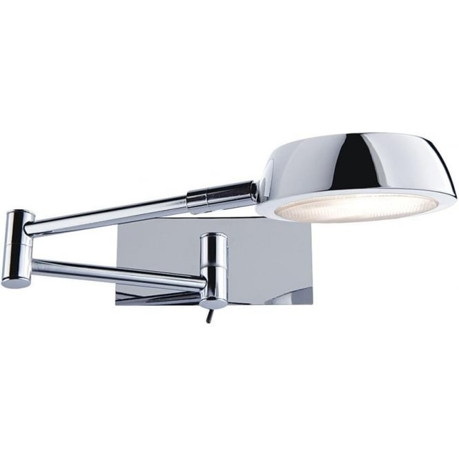 Searchlight 3863cc adjustable wall lights 1 light polished chrome 3863cc wall lights 1 light wall light polished chrome mozeypictures Images