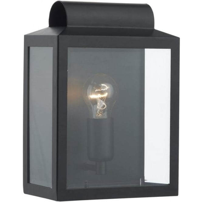 Not2122 dar black outdoor wall light notary ip44 wall light not2122 notary 1 light outdoor wall light black ip44 mozeypictures Images