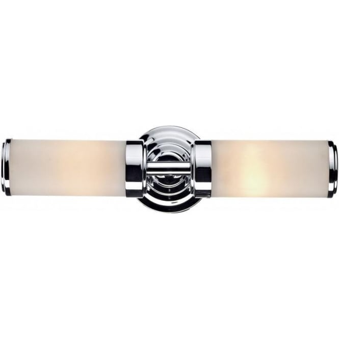 Cen0950 bathroom wall light chrome century ip44 wall light cen0950 century 2 light bathroom switched wall light ip44 polished chrome aloadofball