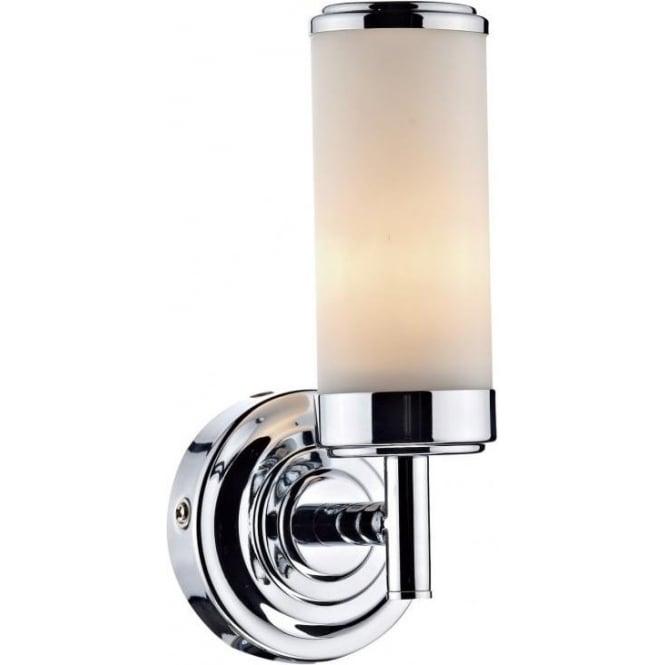 Cen0750 bathroom 1 light wall light chrome century ip44 wall light cen0750 century 1 light bathroom switched wall light ip44 polished chrome aloadofball Image collections