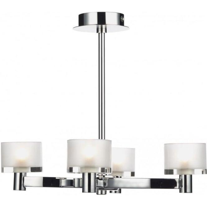 Eto0450 eton ceiling light dar 4 light semi flush ceiling light eto0450 eton 4 light semi flush ceiling light chrome mozeypictures Images