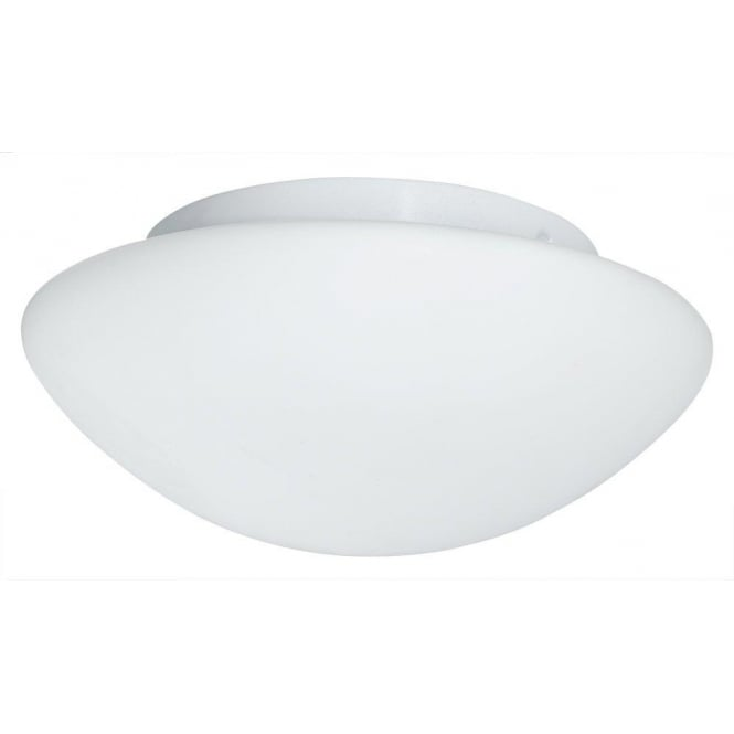 Searchlight 1910-35 Bathroom Flush 3 Light Flush Ceiling Light White IP44