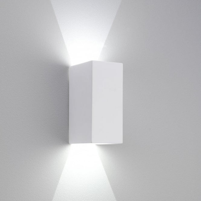 newest collection 120ac fb56d 8182 Parma 210 Dimmable LED Wall Light White Plaster