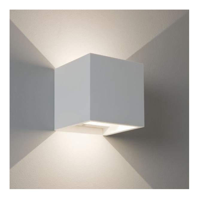7152 Pienza LED 1 Light Up Down Wall Plaster
