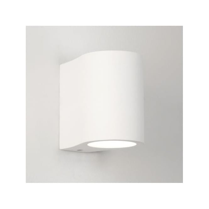Astro 0812 Pero 1 Light Up/Down Wall Light Plaster
